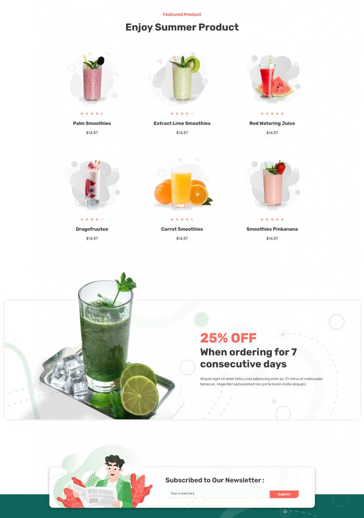 Fruteez - Mẫu nhận diện thương hiệu cho cửa hàng thực phẩm và đồ uống tốt cho sức khỏe