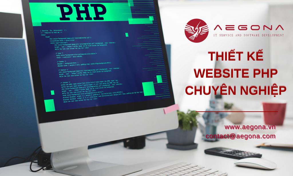 Dịch Vụ Thiết Kế Web PHP Theo Yêu Cầu Uy Tín Chuyên Nghiệp